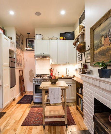 Nyc Rents: Small NYC Apartment Design Ideas