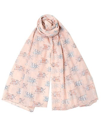 The Spring Scarf Your Neck Is Missing