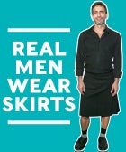 An Ode To Men Who Wear Skirts