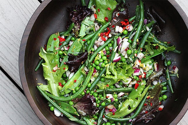 Have This Fresh, Green Bean Salad In Just 4 Steps