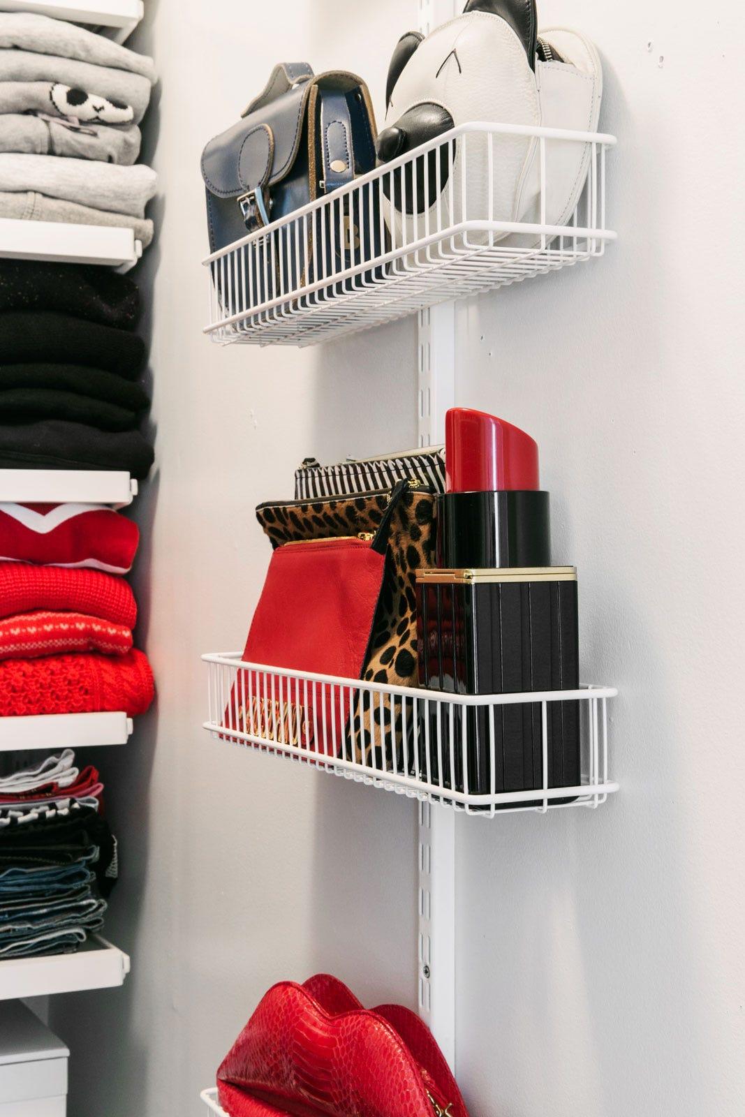 Small Walk-In Closet Organization Tips
