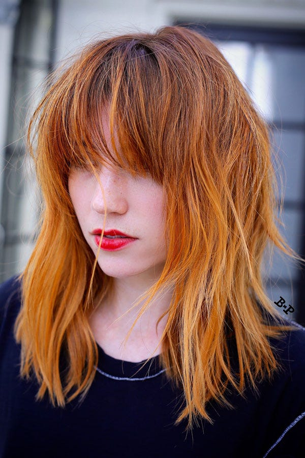 La Hair Color Trends For Winter Bronze Copper Tones