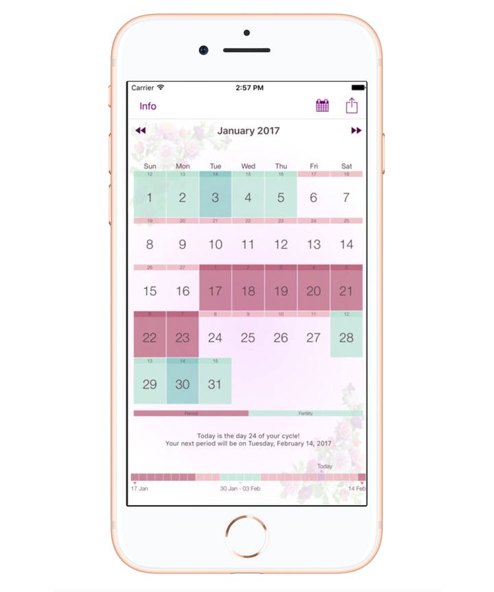 Best Period Tracker App Menstruation Calendar - 22 perfect things that will make your day so much better