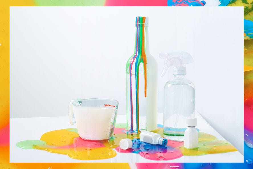 how to make home cleaning products