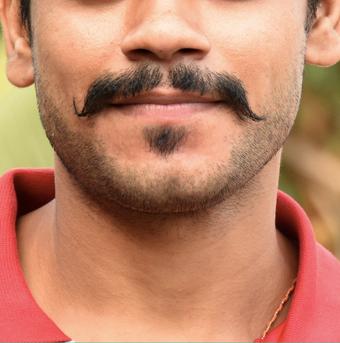 Twitter Men Mustache Selfies Discrimination Meaning