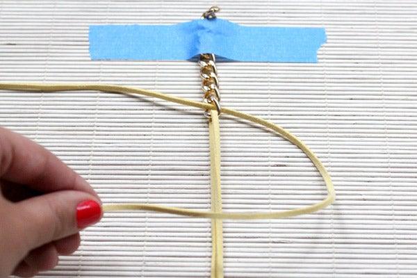 Diy Chain Bracelet How To Make A Link Bangle