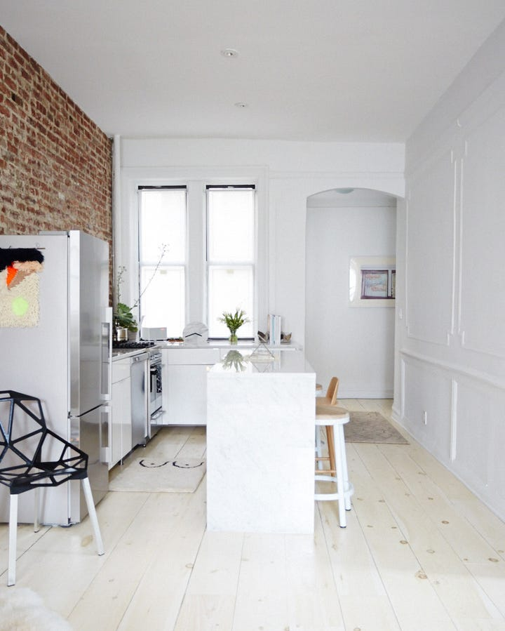 Home Tour Brooklyn Apartment: Brooklyn Minimalist Apartment Tour