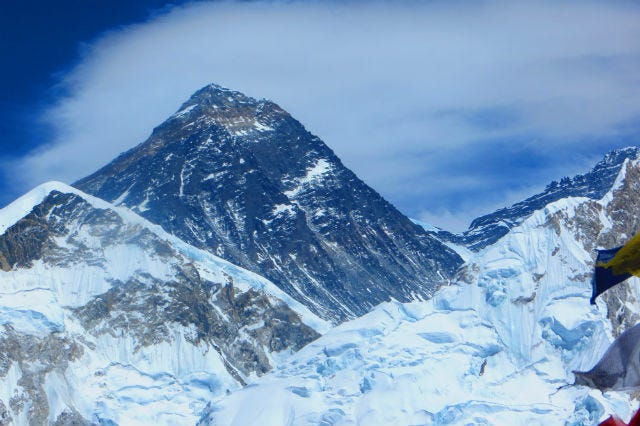 13-Year-Old Girl Literally Gains New Perspective By Scaling Mount Everest
