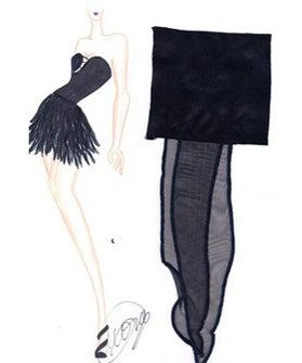 Johnny Weir Dress- Johnny Weir Little Black Dress