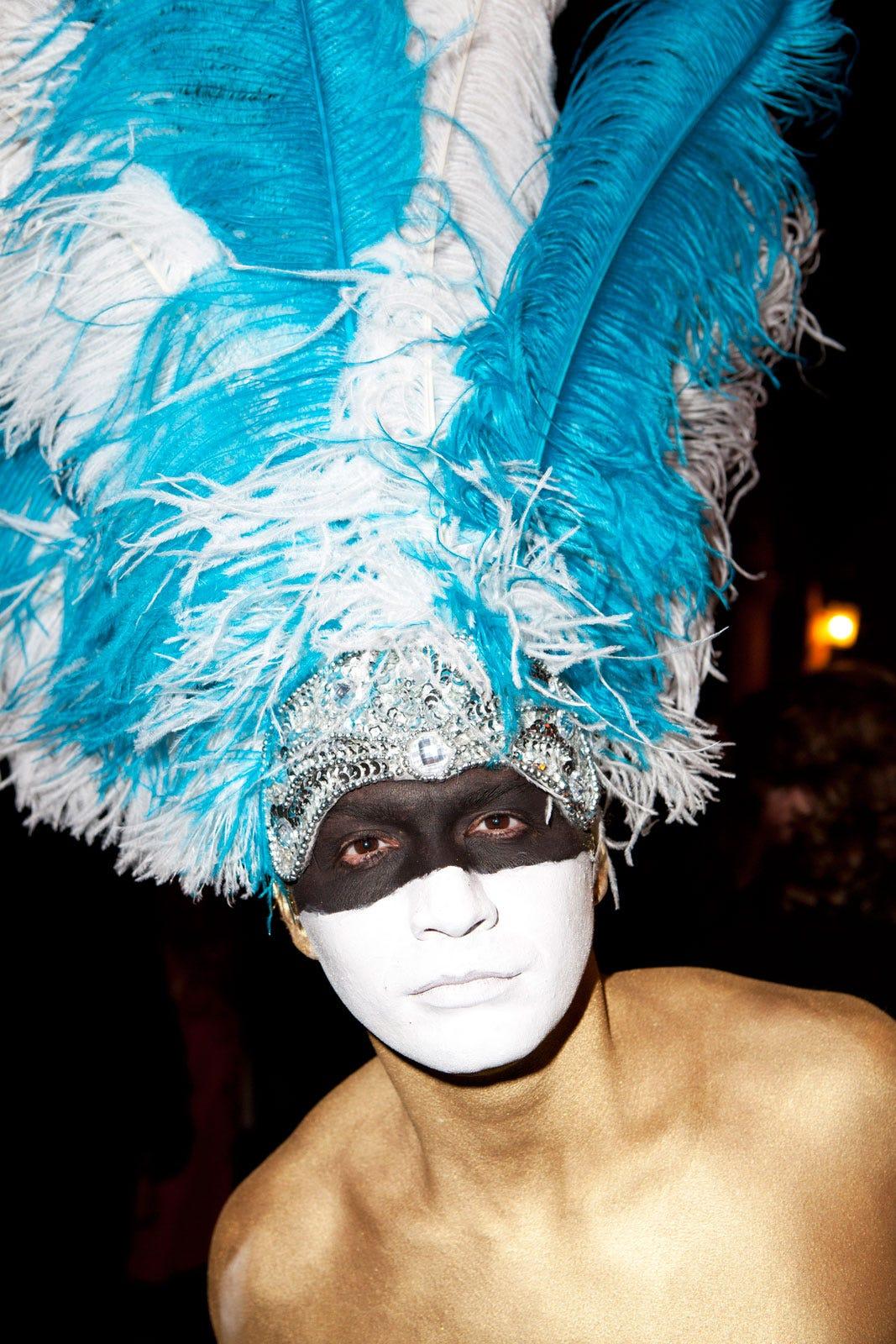 Kaitlin Menza Greenwich Village Halloween Parade Pictures 2014