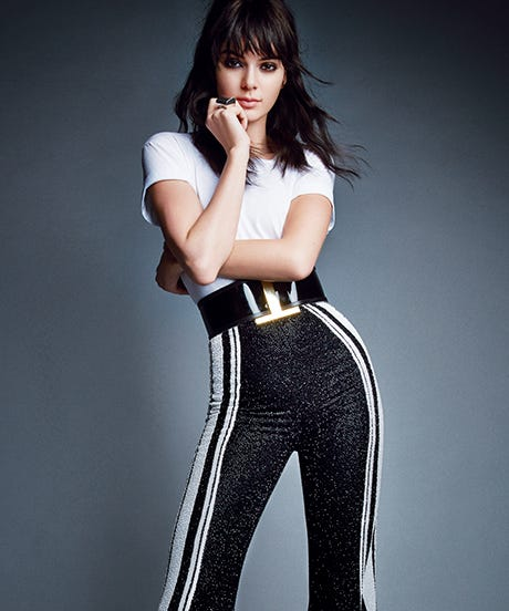 Jenners kendall in this months vogue