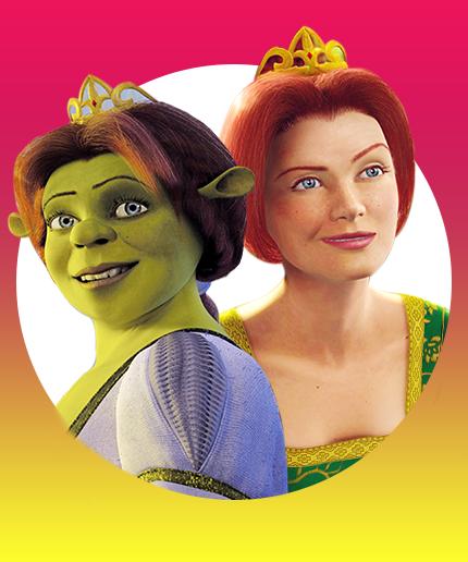 Shrek princess fiona important disney characters - Anne de shrek ...