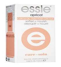 Ragged cuticles are inevitable this time of the year, so just a few drops of this nourishing oil will soften them up while adding a nice, healthy sheen to your nails. Added bonus: It has a yummy apricot smell.       Essie Cuticle Oil, $8.39, available at Soap.com.