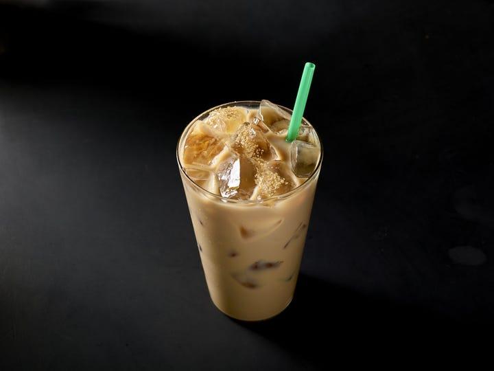 New Starbucks Vegan Drinks Coconut Milk Iced Latte
