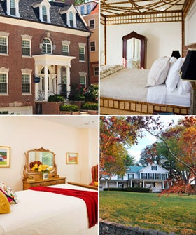 B b in dc romantic bed breakfast getaways in d c for Romantic weekend getaways dc