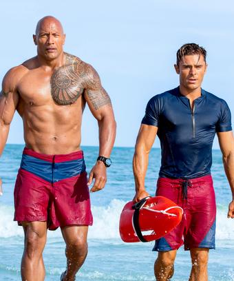 Baywatch Movie Objectifying Men Sexual Jokes Male Body