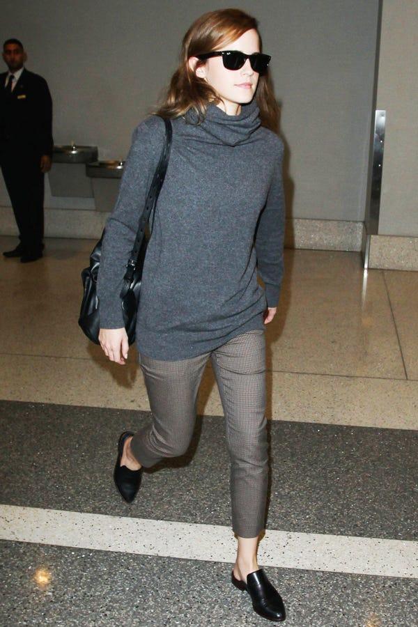 Emma Watson Mules Celebrity Fall Fashion