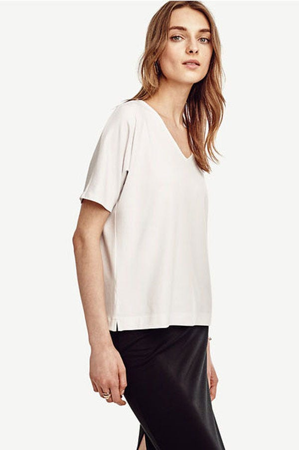Best non see through white t shirt for White t shirts that aren t see through