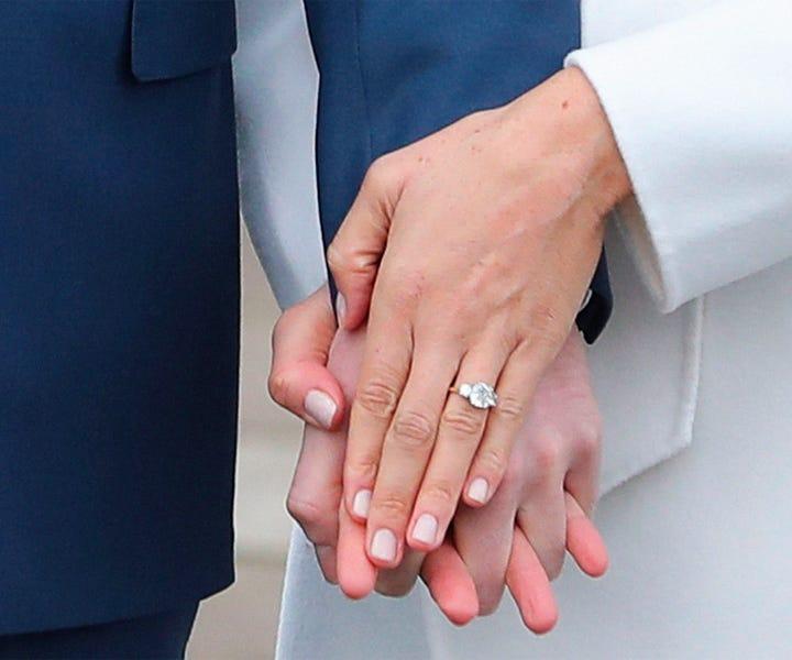 Meghan Markle Engagement Ring, Nail Polish Choice