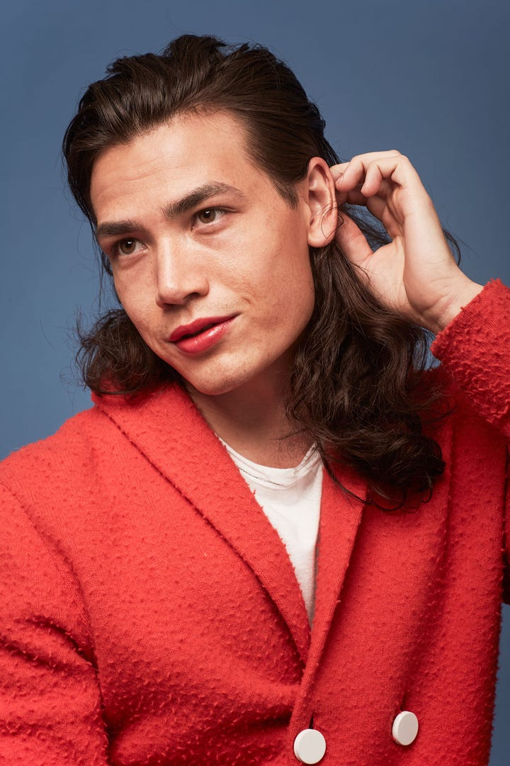 New Lipstick Trends On Male Models