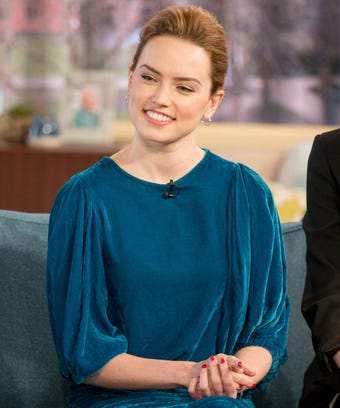 Daisy Ridley Goes Red For The Second Time