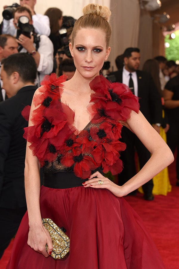 Met Gala 2015 Poppies Red Carpet Fashion Pics