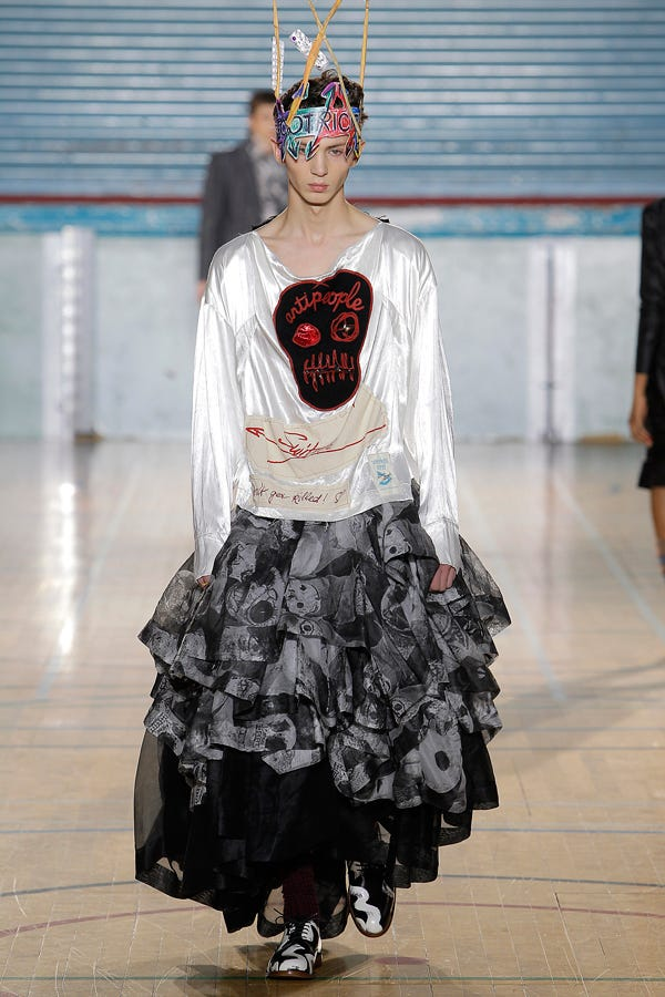 vivienne westwood fall 2017 collection
