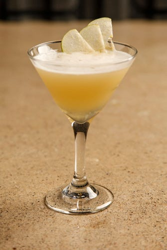 Pear Apple Martini 2