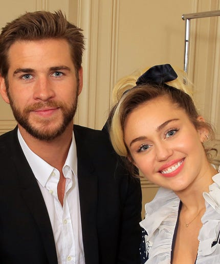 Miley Cyrus Liam Hemsworth Wedding Plans Noah Cyrus