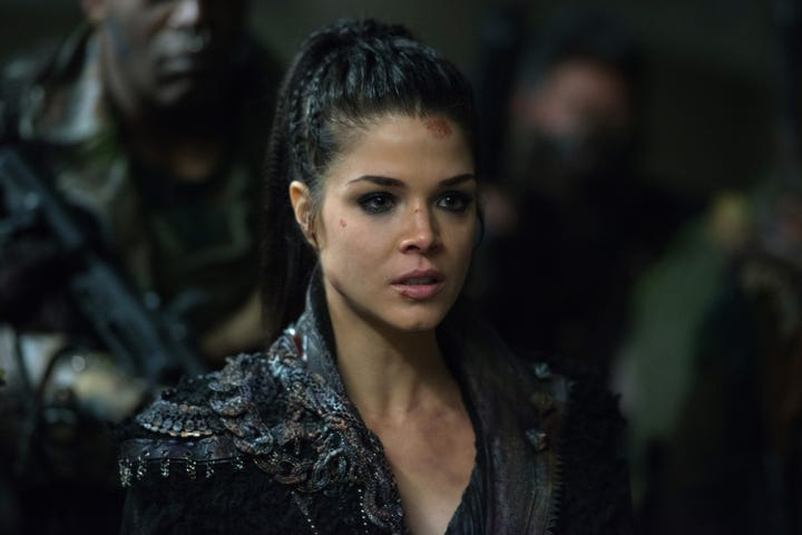 The 100 Recap Season 4 Episode 12 The Chosen - 80 Hairstyles
