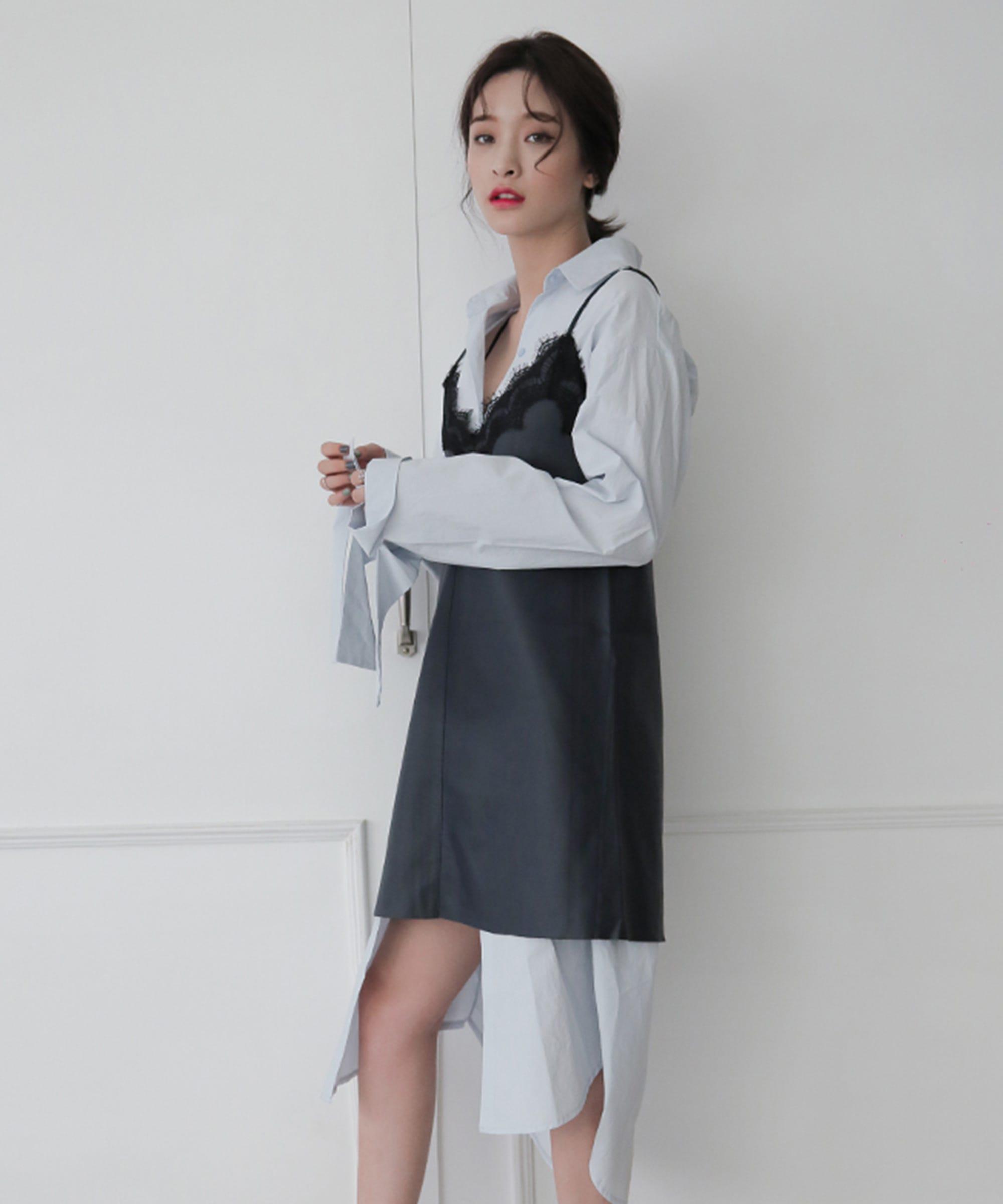Korean Fashion Stylenanda Outfits Fishnets Corset Belt