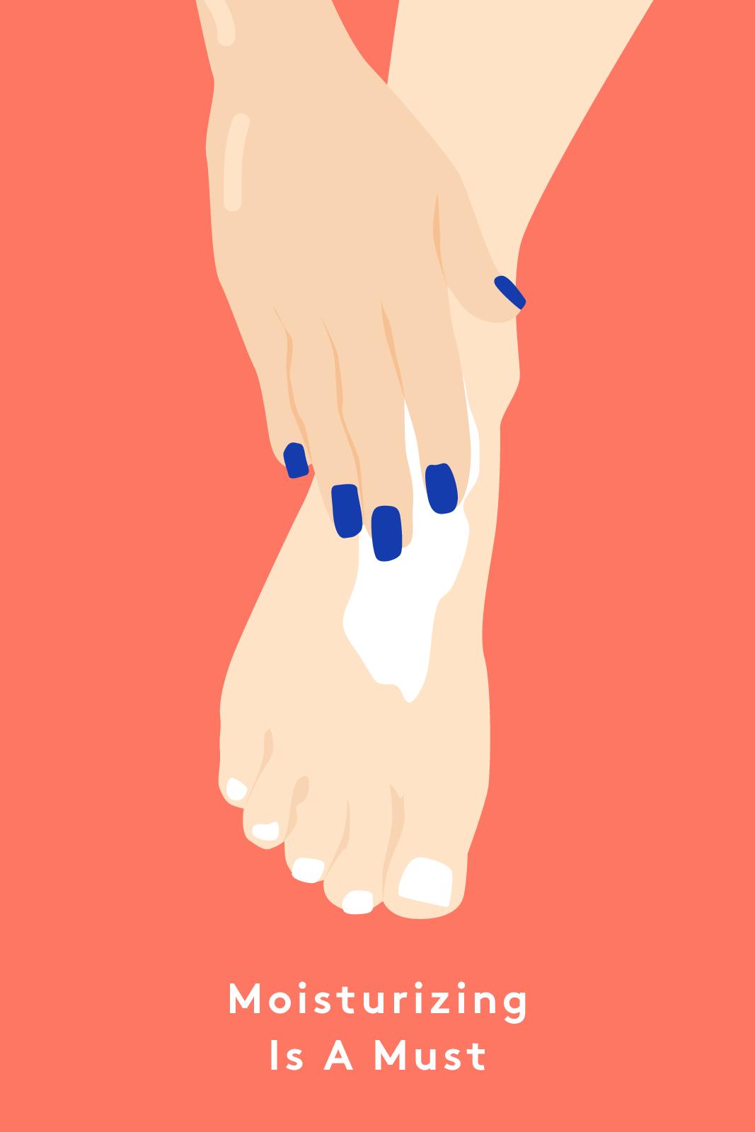 Foot Model Pedicures Feet Care