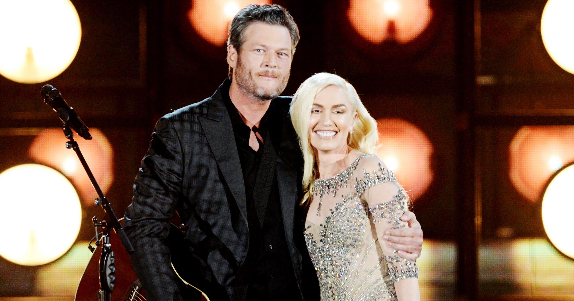 Gwen Stefani Blake Shelton Duet Miranda Lambert Divorce
