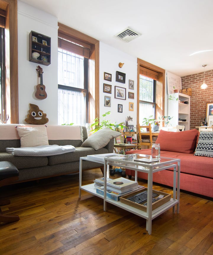 Single Bedroom Apartments Nyc: One Bedroom Apartment Home Tour Video Brooklyn New York