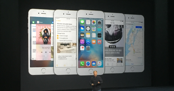 Apple Event iPhone 6S Plus iOS9 Upgrades