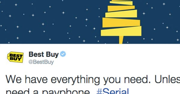 Buy Here Pay Here Chicago >> Best Buy Serial Pay Phone Tweet Controversy 2014