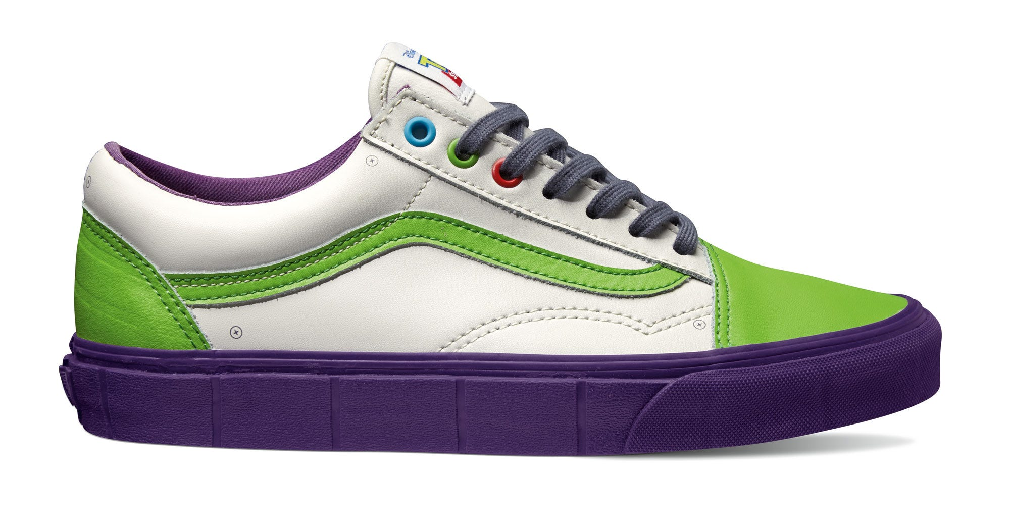 eccfbe0eca Vans Toy Story Collaboration - Buzz Lightyear Sneakers