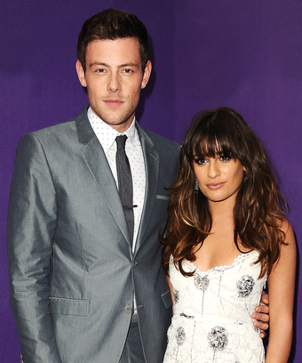 Lea Michele And Cory Monteith Dating April 2018