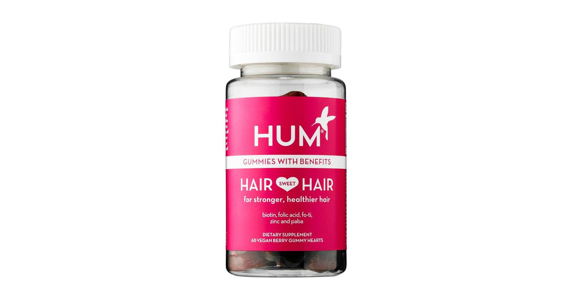 Best Hair Vitamins Hum Sugar Bear Ouai Reviews