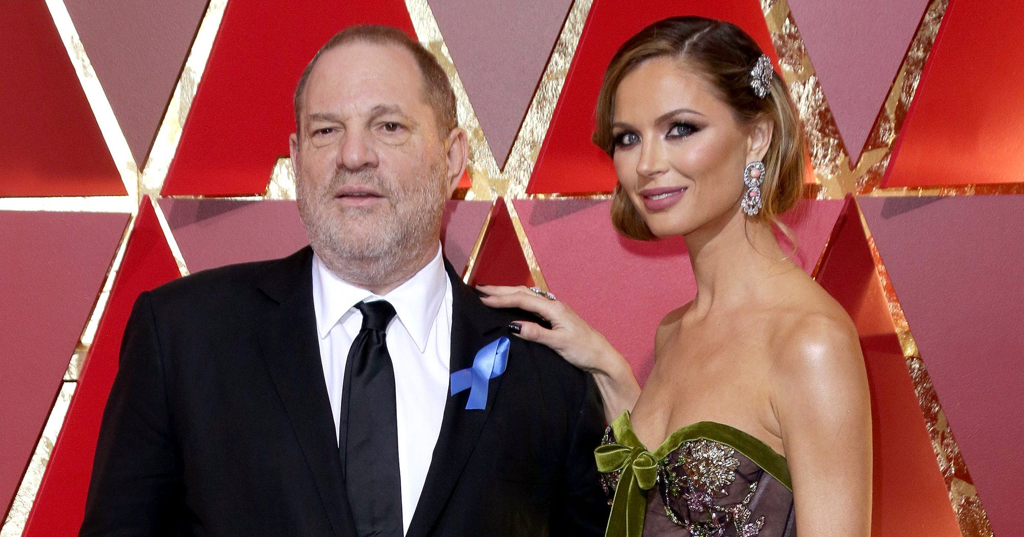 Harvey Weinstein's Wife Georgina Chapman Confirms She Is Leaving Him Following Allegations