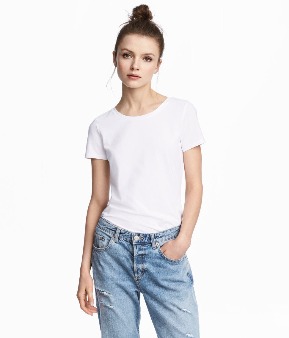 50e4d01c78 Best White T Shirts- Gap, Reformation, Everlane, Hanes