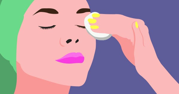 The Quick Way To Make Eye-Makeup Remover Pads At Home