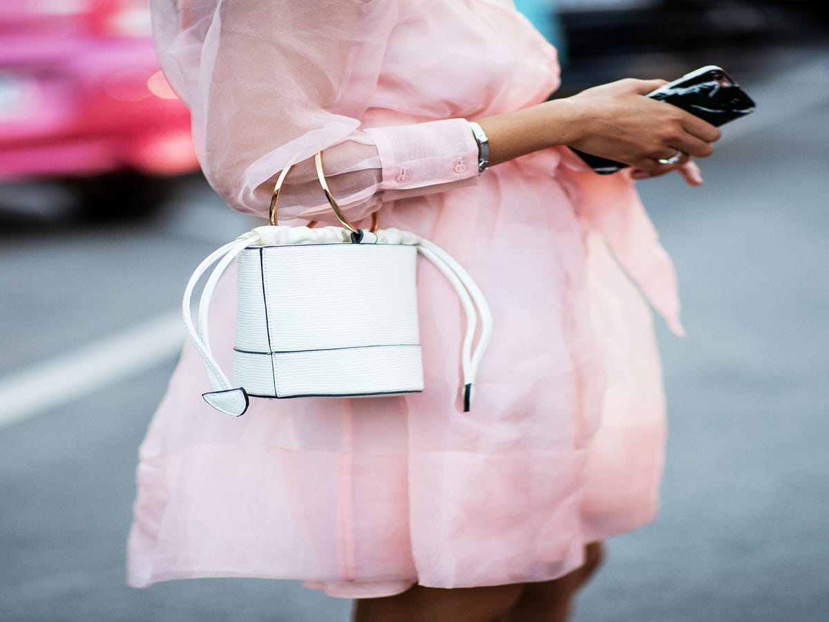 Why A Baby-Pink Manicure Feels So Right For Spring