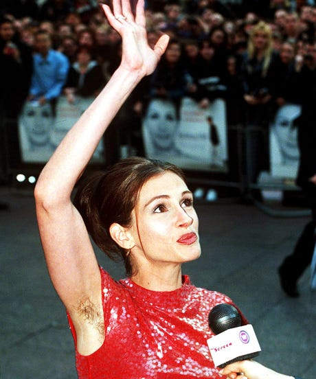 Celebrity Armpit Body Hair Movement Pictures