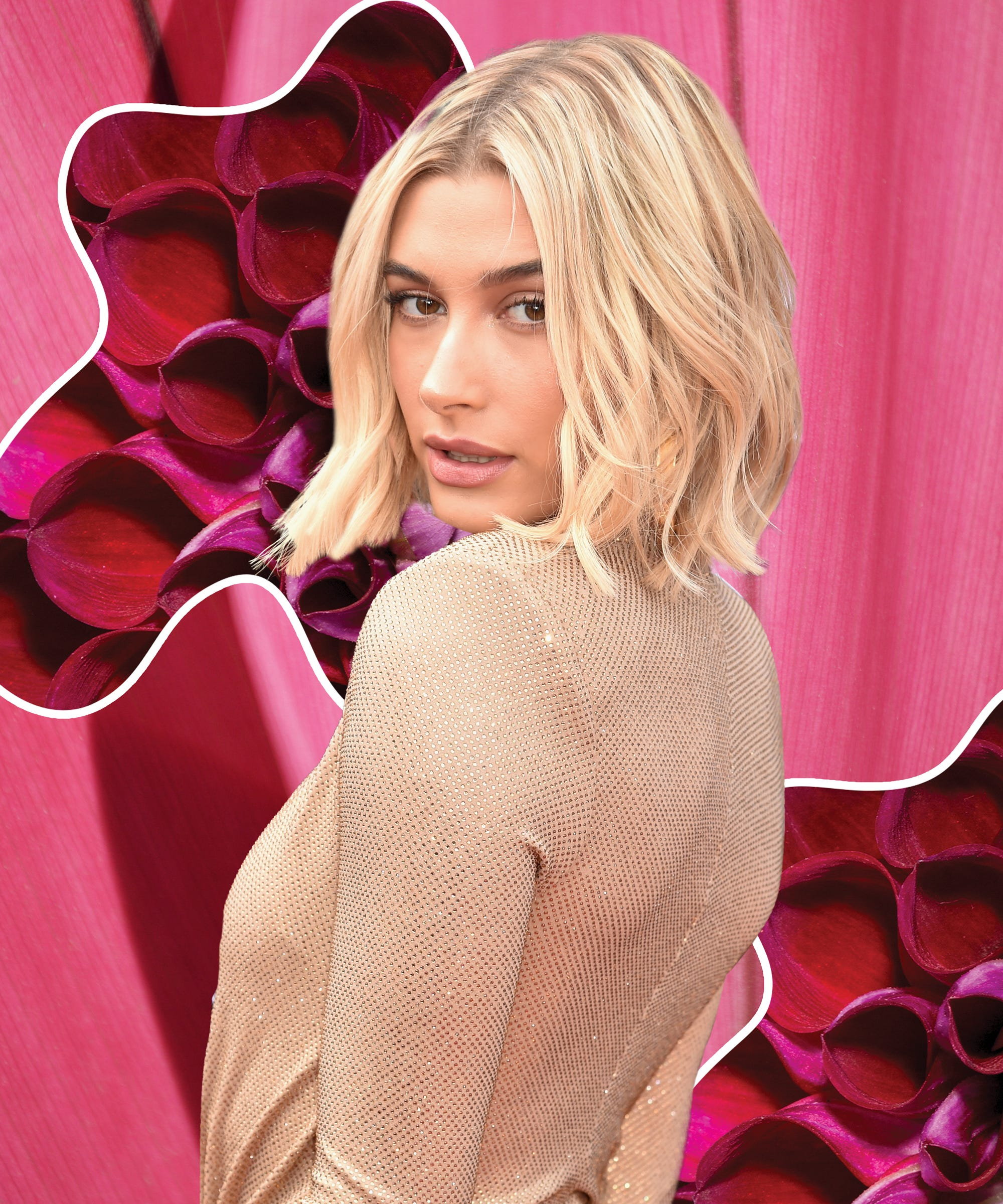 Hailey Bieber Debuts The 2019 Pink Hair Trend