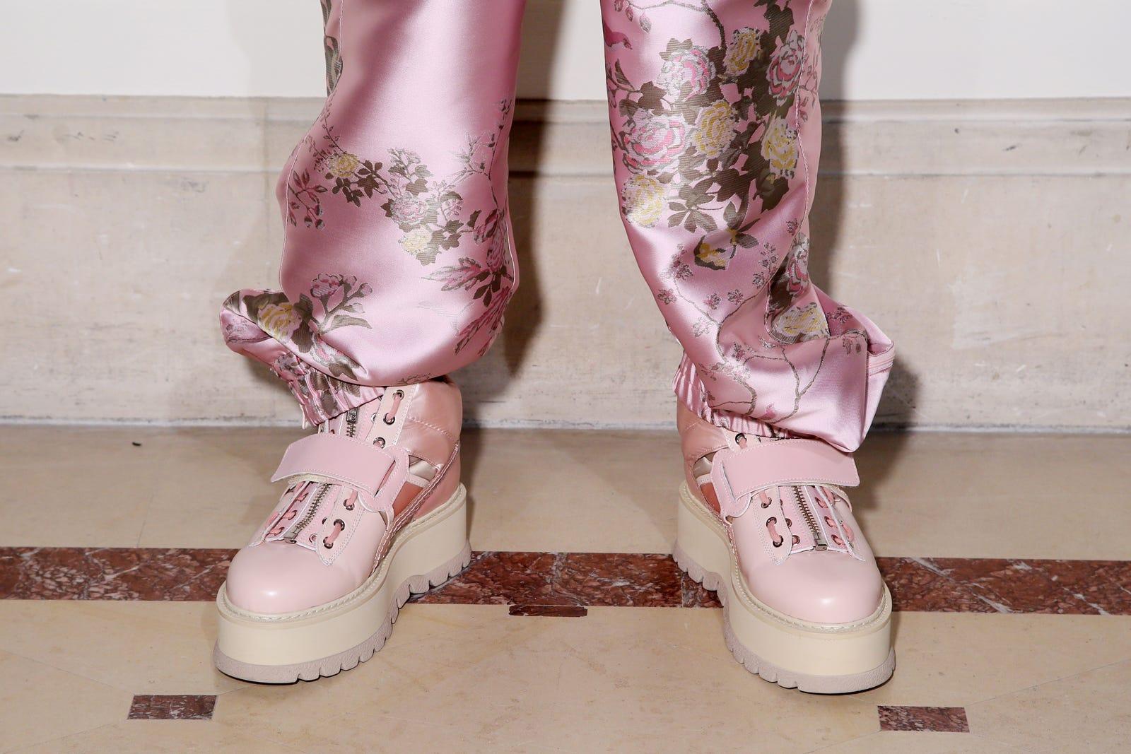wholesale dealer 6b3f2 68210 Rihanna Fenty Spring 2017 Puma Shoes Paris Fashion Week