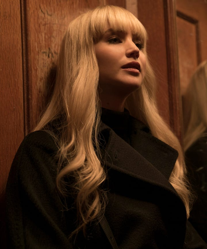 Red Sparrow Shows Evolution Of Femme Fatales In Movies