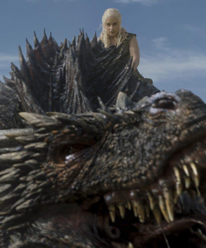 Daenerys Dragons Differences Drogon Rhaegal Viserion