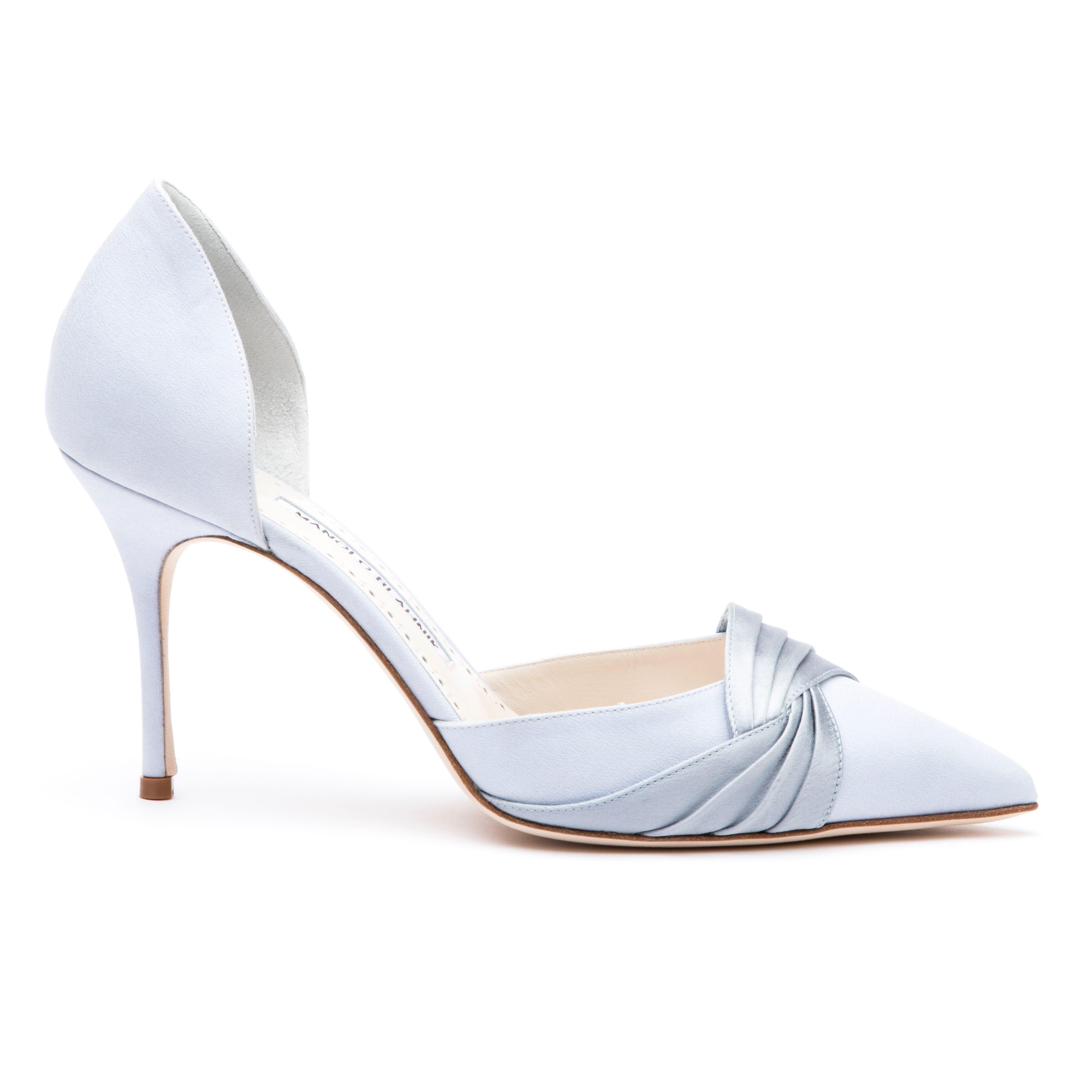 f18618a8d4e8f6 Manolo Blahnik Bridal Collection Launch Wedding Shoes