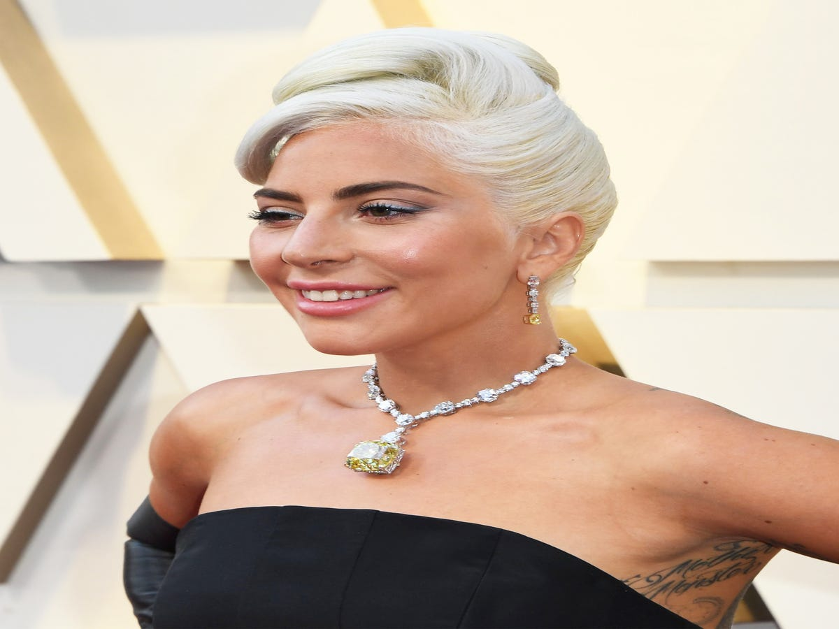 Lady Gaga s Back Tattoos Already Won The Oscars